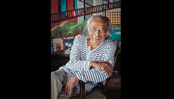 En 1959, Víctor Delfín es nombrado director de la Escuela de Bellas Artes de Puno y la de Ayacucho. [Foto: Hugo Pérez / archivo]