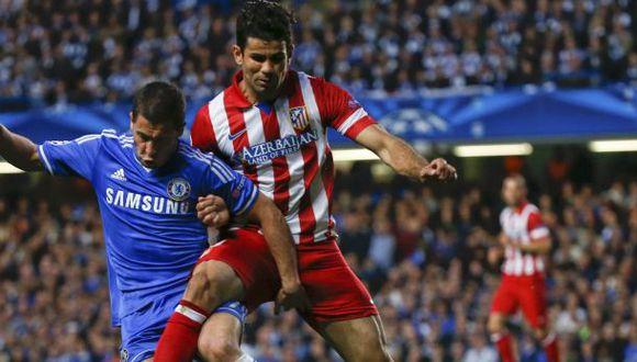 Atlético negó cualquier contacto del Chelsea por Diego Costa