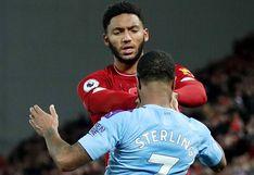 Sterling, suspendido de la selección inglesa por altercado con Joe Gómez
