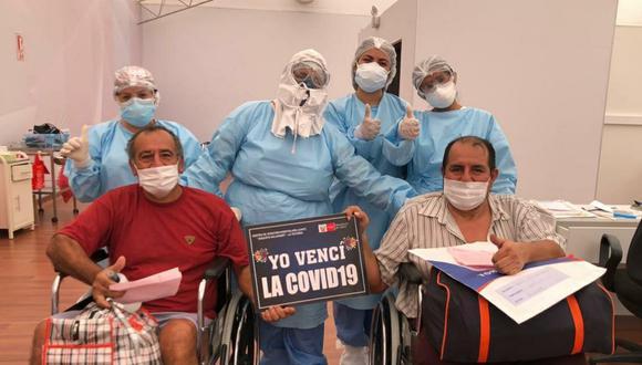 La cantidad de pacientes recuperados aumentaron este viernes. (Foto: Minsa)