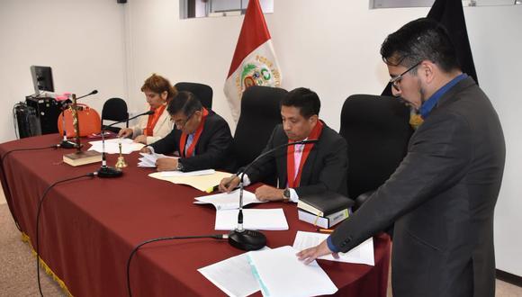 Colegiado E de la Sala Penal Nacional que absolvió a los integrantes del Movadef acusados por el delito de apología.