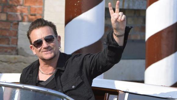 """""""La paz es trabajosa, pero se puede lograr"""", dice líder de U2"""