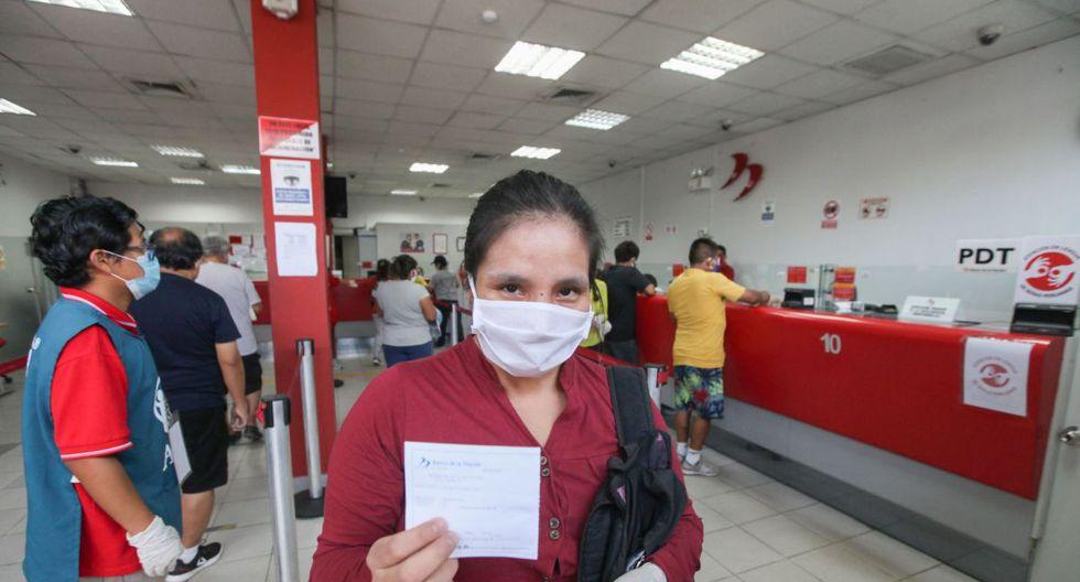 En total, los beneficiarios recibirán S/ 760 por concepto del Bono Independiente (Foto: Andina)