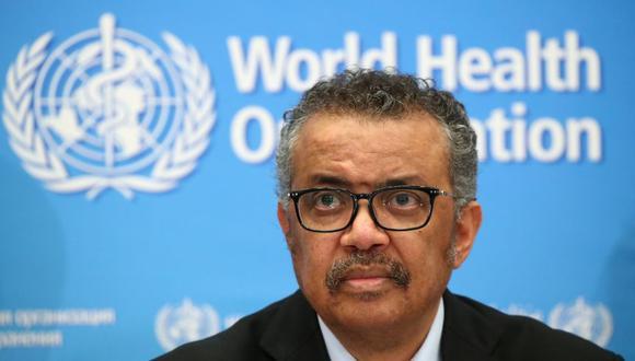 """El director general de la Organización Mundial de la Salud, Tedros Adhanom Ghebreyesus, dijo esta semana que el riesgo de que el coronavirus se propagara por todo el mundo era """"muy alto"""". (Foto: Reuters)"""