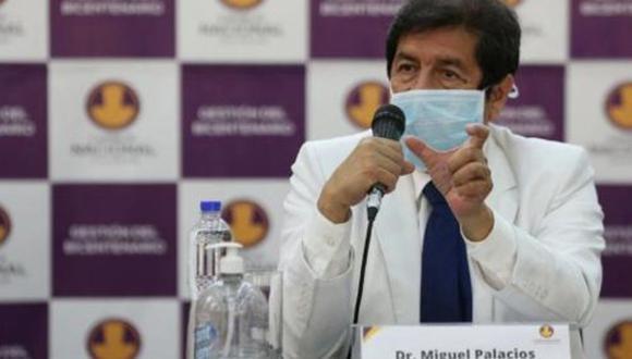 Decano del Colegio Médicos del Perú, Miguel Palacios. (Foto: GEC)