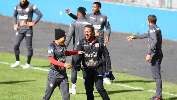 El plantel de Perú sigue trabajando de cara a la final de la Copa América ante Brasil. (Foto: Francisco Neyra)