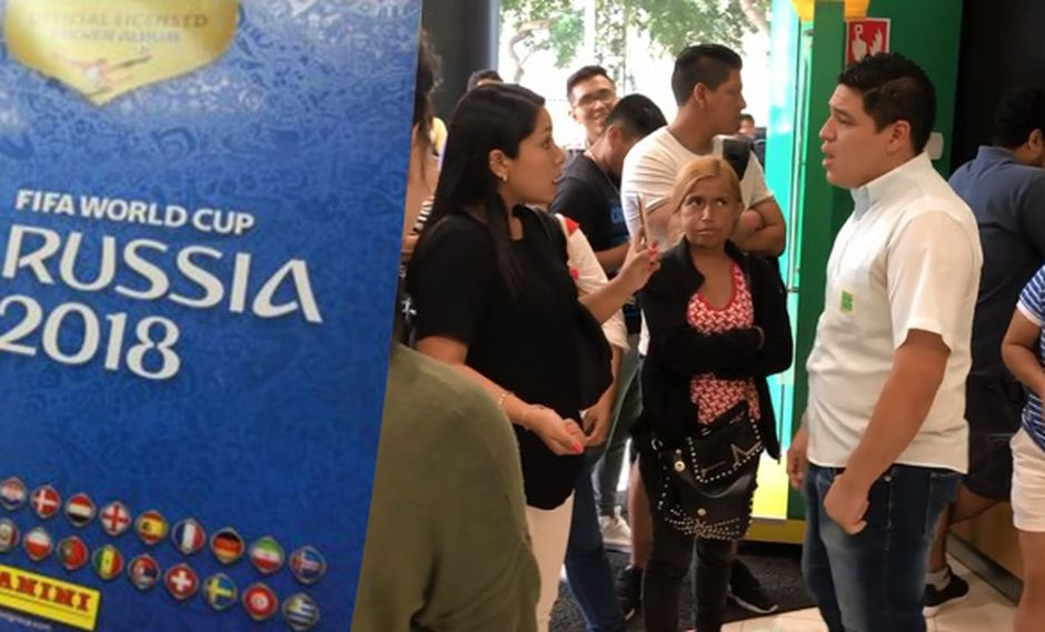 Hinchas increparon a un trabajador de un punto de venta aduciendo que no quería venderles el álbum Panini Rusia 2018. La filial peruana del fabricante tuvo que lanzar un comunicado en Facebook.