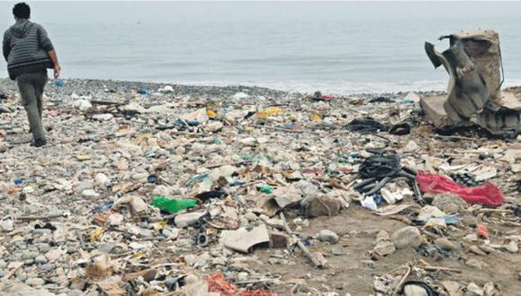 Al menos nueve playas están repletas de escombros y basura