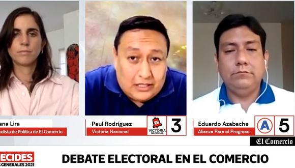 El Comercio inicia debates regionales de candidatos al Congreso