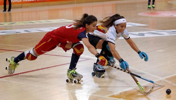 Hockey sobre patines. (Foto: EFE)