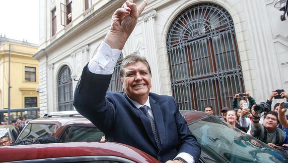 El ex presidente Alan García se apartó de la dirigencia del Apra luego de las elecciones del 2016. (Foto: El Comercio)