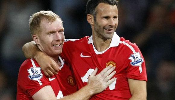 Paul Scholes ayudará a Giggs a entrenar al Manchester United