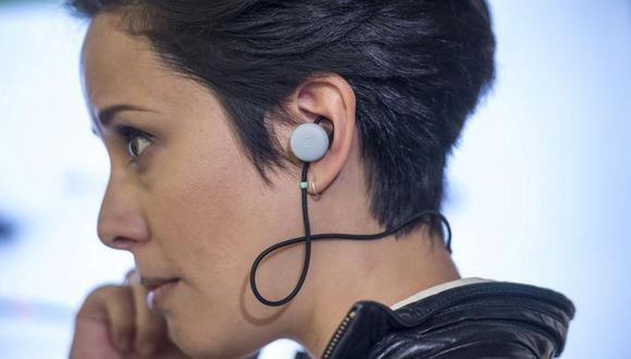 Traductores Google Pixel Buds. (Foto: AFP)