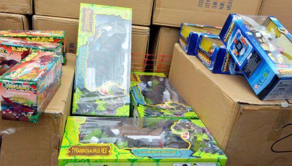 Sunat incautó juguetes chinos provenientes del contrabando