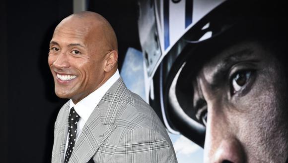 Dwayne 'The Rock' Johnson compra la liga XFL por 15 millones de dólares. (Foto: AFP/ROBYN BECK)