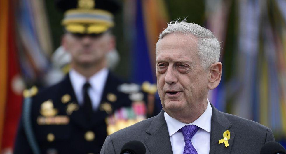 Donald Trump acelera la salida de James Mattis de la secretaría de Defensa. (AP).