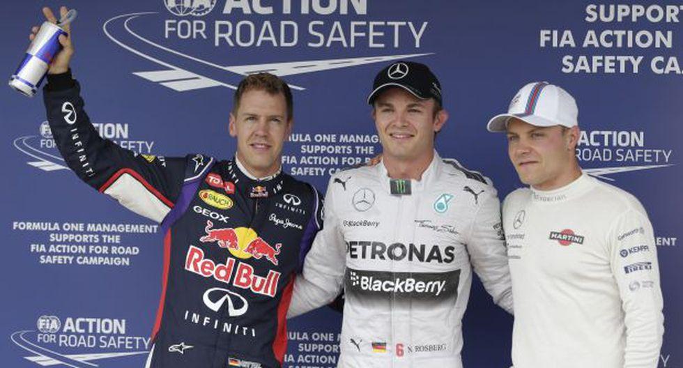 Rosberg saldrá primero el domingo en el Gran Premio de Hungría