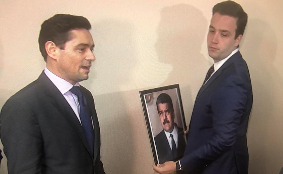 Carlos Vecchio: Representantes de Juan Guaidó tomaron el control de tres propiedades diplomáticas de Venezuela en Estados Unidos. (Reuters).
