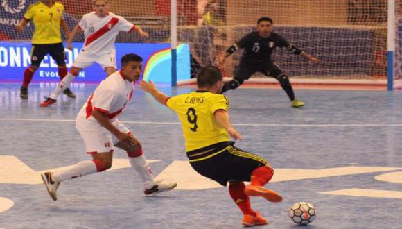 Copa América de futsal 2017: Perú consiguió su primera victoria