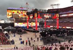 WrestleMania 37 en peligro: vientos de gran escala afectan inicio del evento | VIDEO