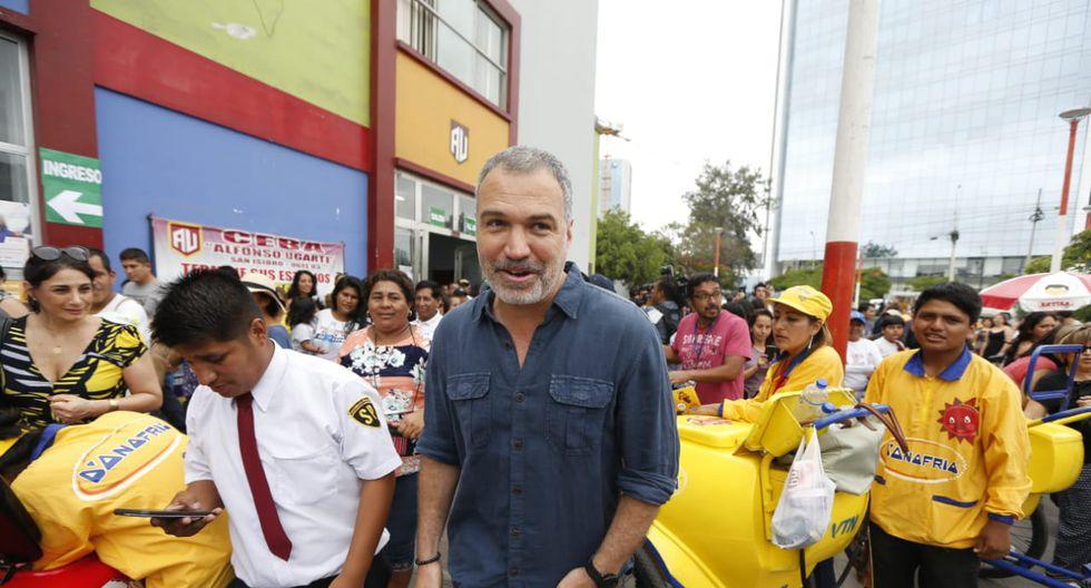 """Salvador del Solar aseveró que estos comicios permitirán """"refrescar"""" la clase política peruana. (Foto: Francisco Neyra /GEC)"""