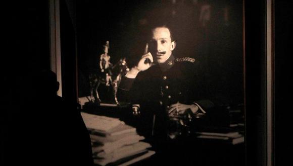 En esta imagen un retrato del rey Alfonso XIII, monarca que tuvo un importante papel en la Primera Guerra Mundial. (EFE)