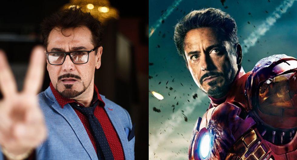 Robert Downey Jr. como Iron Man. (Fotos: Agencia)