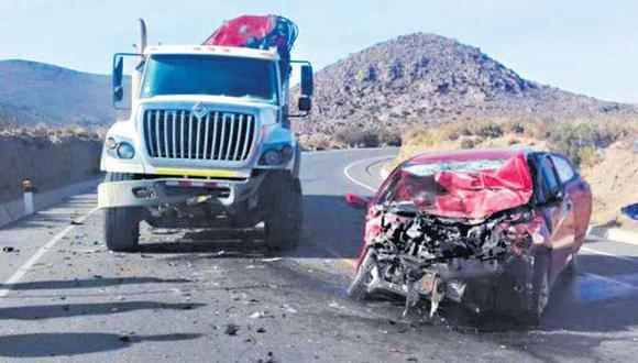 Casi el 70% de muertes en carreteras se produce en vehículos M1 station wagon o sedán.
