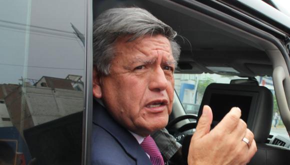 Acuña anunció que apelará la resolución del JEE Lima Centro 1. (Foto: GEC)