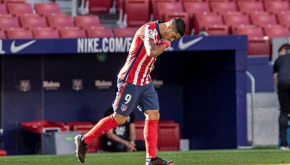 Luis Suárez llegó al Atlético de Madrid procedente del Barcelona. (Foto: EFE)