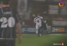 ¡Gran definición, 'Juanchi'! Estudiantes recordó golazo de Cominges con la '10′ | VIDEO