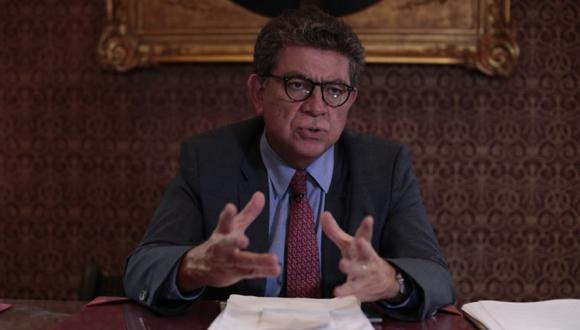 El canciller del Perú Gustavo Meza-Cuadra hizo un balance de los esfuerzos realizados, la situación actual de los varados. (Foto: Hugo Pérez / Archivo GEC)