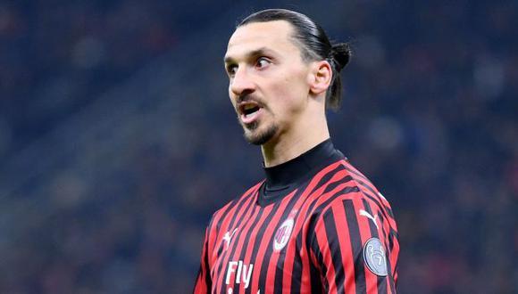 Ibrahimovic termina contrato con AC Milan a finales de agosto. (Foto: AFP)
