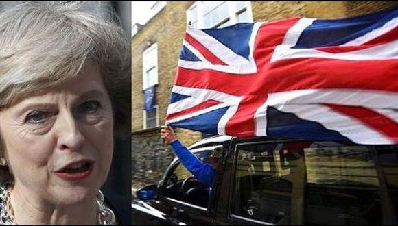 """May: Reino Unido afrontará """"momentos difíciles"""" por el Brexit"""