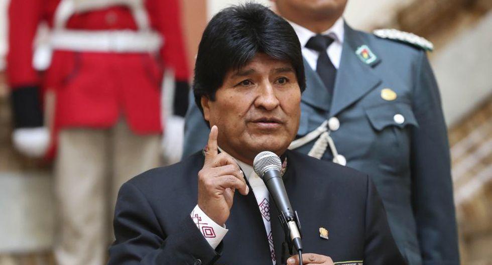 """Evo Morales sobre La Haya: """"La defensa de Chile naufraga"""". (Foto: EFE)"""