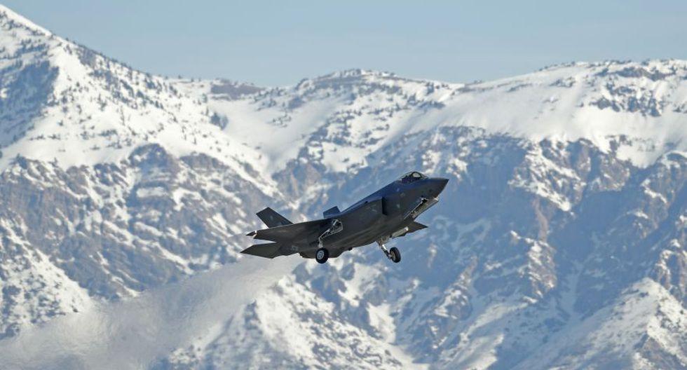 Los ultramodernos F-35 de EE.UU. que entrenan cerca de Rusia - 13