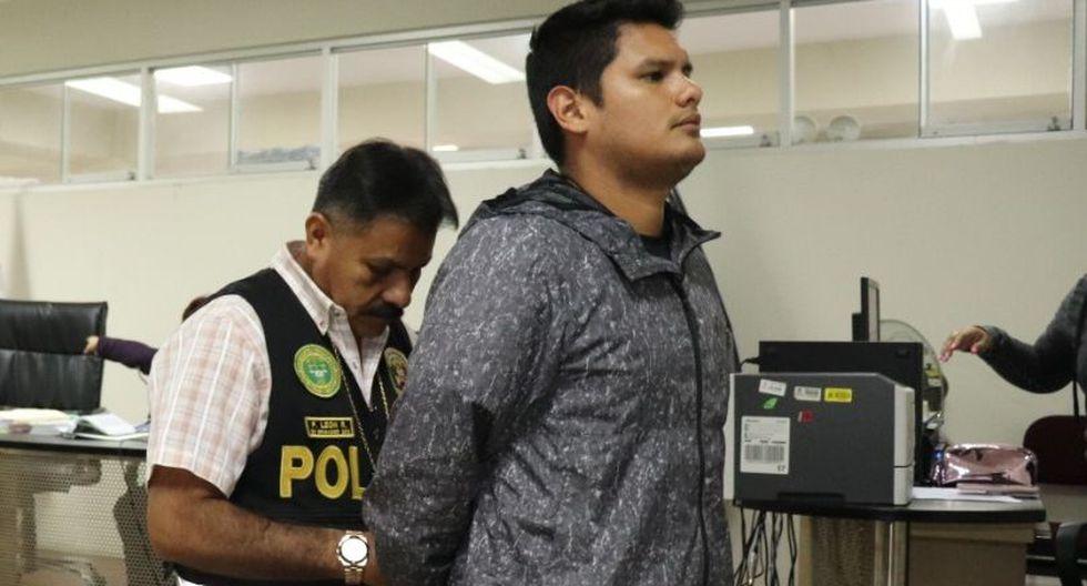 Manuel Jesús Peralta Callirgos (26) es acusado de haber estrangulado y asesinado a su pareja, Gladis Roxana Infantes Alegría (29), en Trujillo (La Libertad).  (Johnny Aurazo)