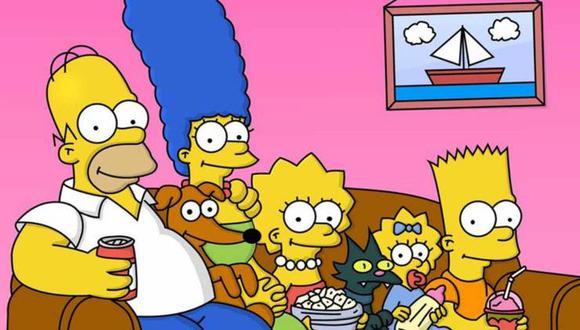 """Familia aburrida recrear el opening de """"Los Simpson"""" durante cuarentena. (Foto: Fox)"""