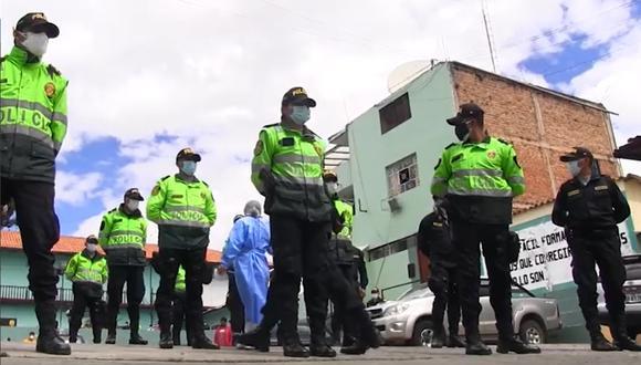 Cajamarca: los agentes infectados tendrán que cumplir con el aislamiento domiciliario, con la finalidad de evitar la propagación de la enfermedad.
