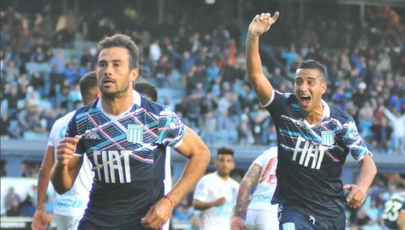 Racing ganó 2-1 a Arsenal en El Cilindro con goles de Cvitanich y López por la Superliga argentina   VIDEO. (Foto: AFP)