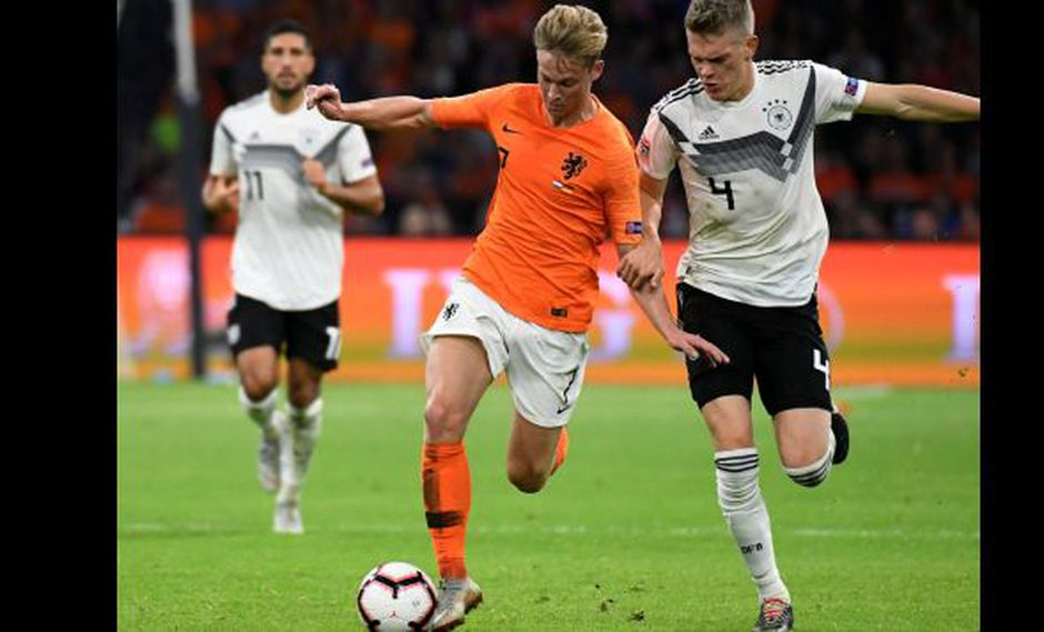 Frenkie de Jong, joven futbolista de la selección holandesa. (Foto: Reuters)