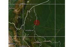 Amazonas: sismo de magnitud 4,1 se registró en Condorcanqui, informó el IGP
