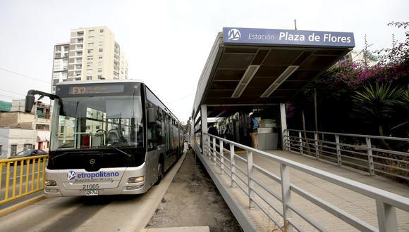 La ATU anunció el horario que tendrán los servicios de transporte público desde el 15 de enero. (Foto : GEC)