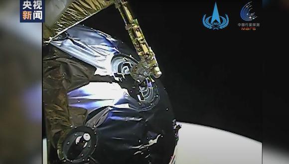 Las imágenes fueron tomadas por la Cámara de Vigilancia Completa de la misión. (CNSA)