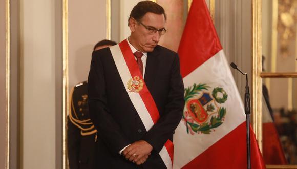 Martín Vizcarra ya está en la mira de la Fiscalía de la Nación por el caso Richard Cisneros. (Foto: Juan Ponce/ EFE)