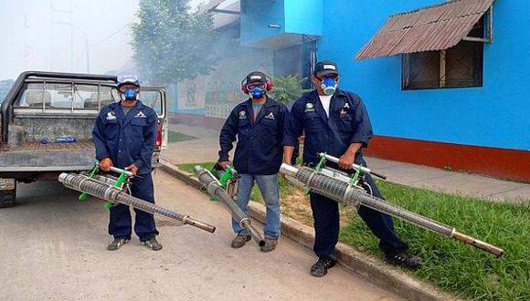 Piura inicia fumigación en 26 distritos por brote de dengue