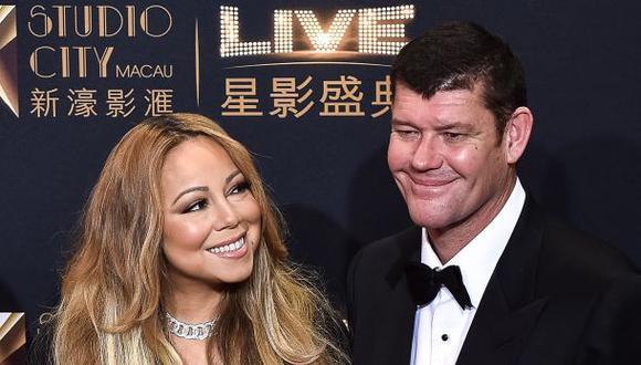 Mariah Carey se comprometió con millonario James Packer