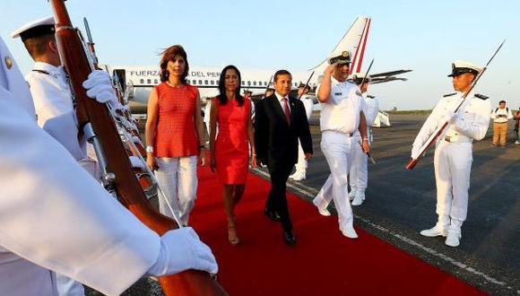 Humala llegó a Cartagena para Cumbre de Alianza del Pacífico