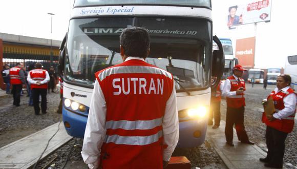 Sutran: entre enero y noviembre del año pasado, 605 personas perdieron la vida en los accidentes reportados. (Foto: Sutran)