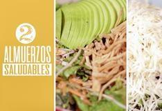 [VIDEO] ¡Toma nota!: Almuerzos nutritivos para corredores